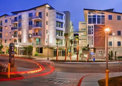 Street View of Paseo Place Apartments in San Diego